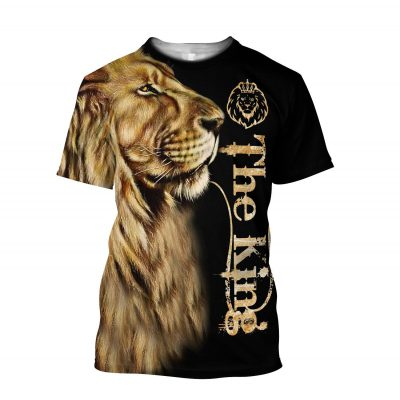 King Lion D All Over Printed Unisex Shirts