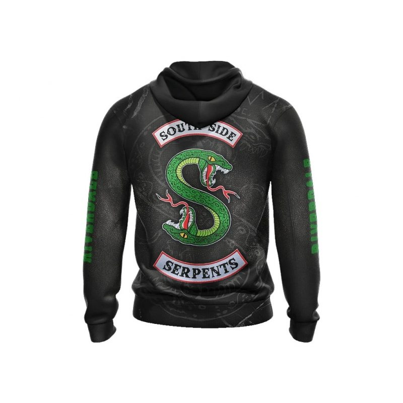 Riverdale southside serpents D all over print Hoodie