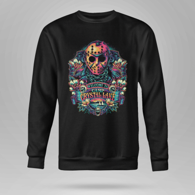 Friday the th Jason Voorhees Welcome to camp crystal lake shirt hoodie