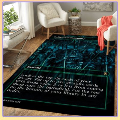Magic The Gathering Collected Company Card Rug