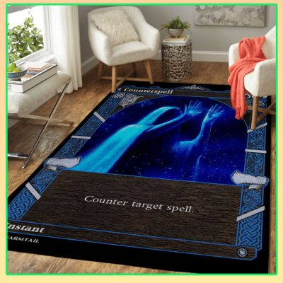 Magic The Gathering Counterspell Card Rug