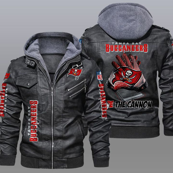 Tampa Bay Buccaneers Fire The Cannon Leather Jacket