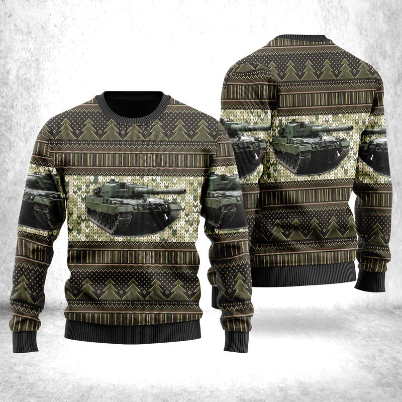 Canadian Army Leopard AM Ugly Sweater