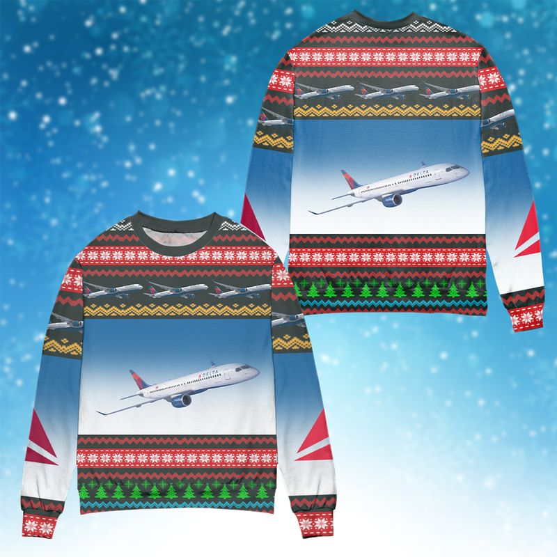 Delta Airlines Ugly Sweater