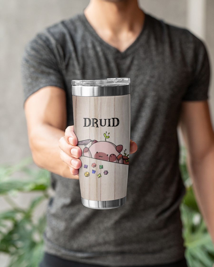 Druid Im a real bear in the fight no really an actual bear tumbler