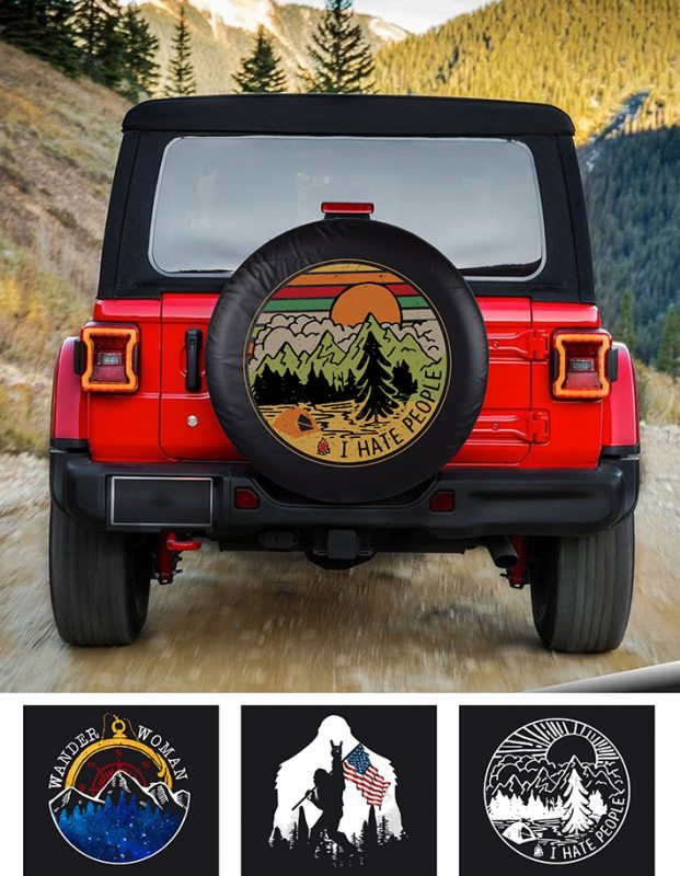I Hate People Spare Tire Cover