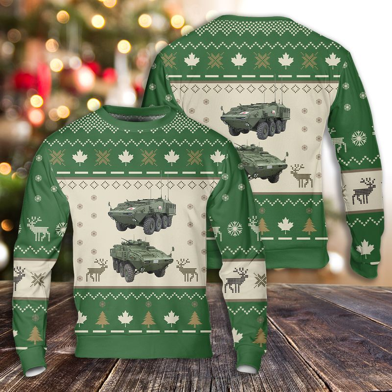 LAV . Canadian Army Ugly Sweater