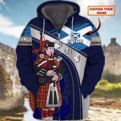 Personalized Scotland Hoodie