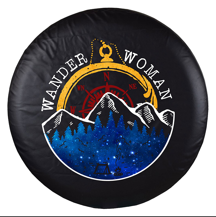 Wander Woman Spare Tire Cover